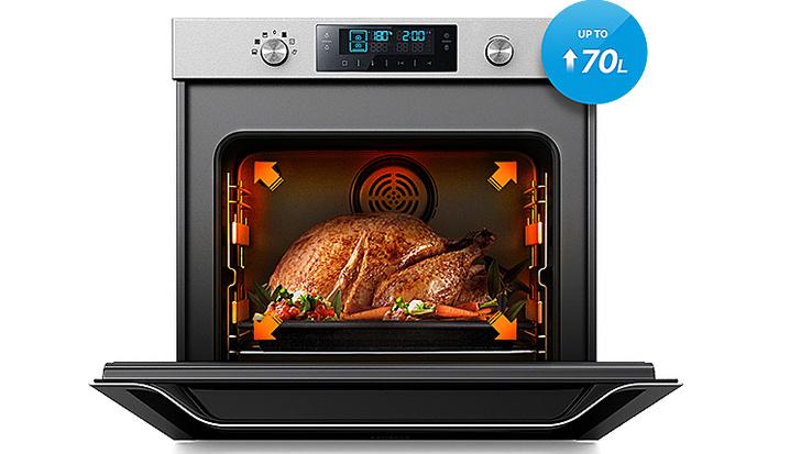 Новые духовые шкафы Dual Cook от Samsung (фото 6)