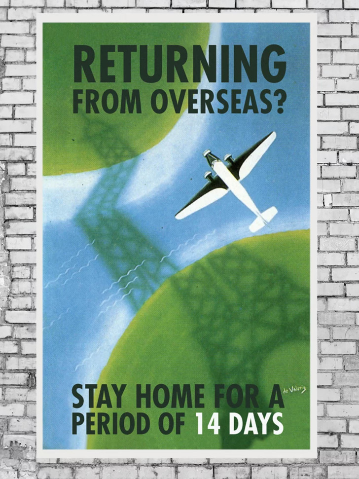 Дизайнеры против коронавируса: серия винтажных плакатов (фото 7)