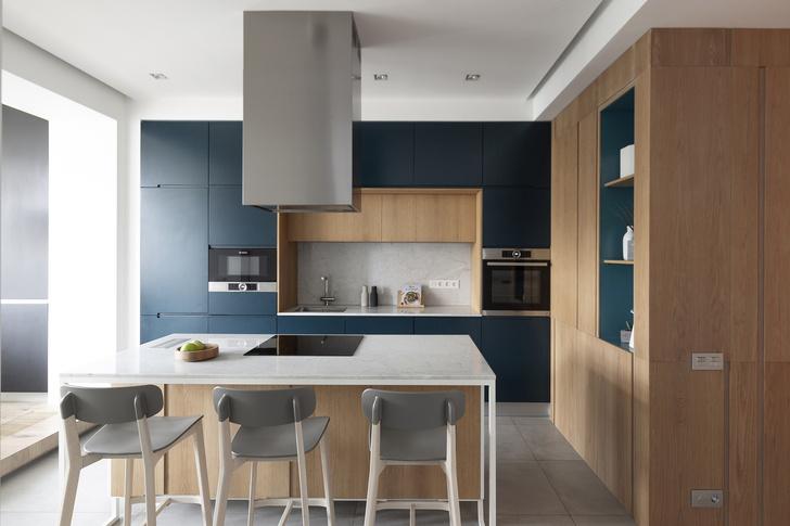 Квартира 150 м²: нескучный проект в скандинавском стиле (фото 6)