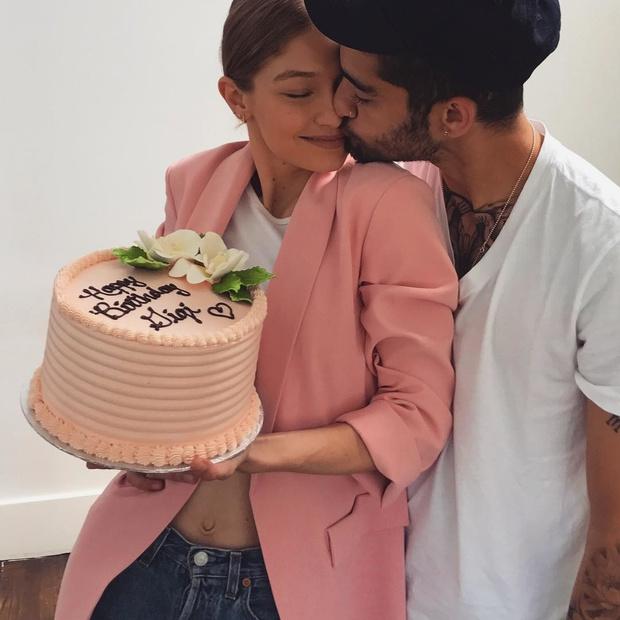 История любви Джиджи Хадид и Зейна Малика в фотографиях (фото 9)