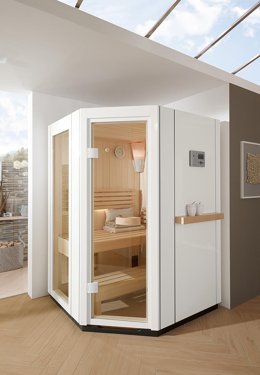 Сауна для ванной комнаты от Villeroy & Boch   галерея [1] фото [3]
