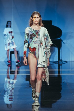Показ Tatyana Parfionova  коллекции сезона Весна-лето 2014 года Prêt-à-porter - www.elle.ru - Подиум - фото 573248