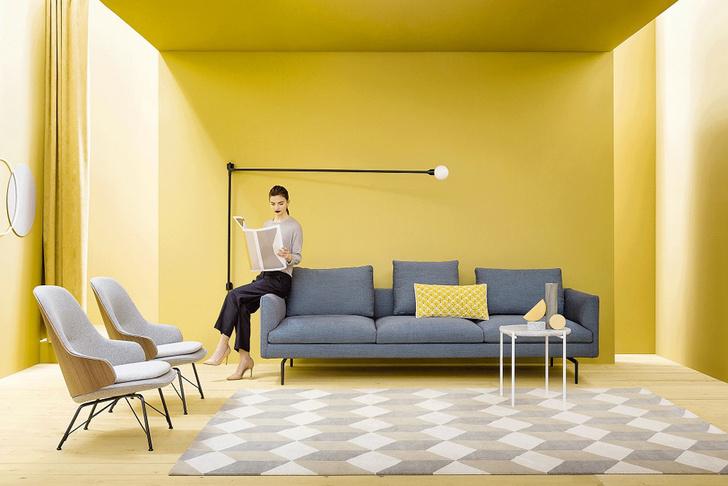 Дом солнца: желтый цвет в интерьере фото [5]