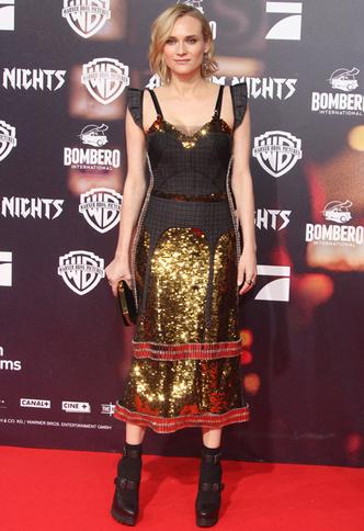 Глиттер и не только: Диана Крюгер в платье Vera Wang (фото 2)