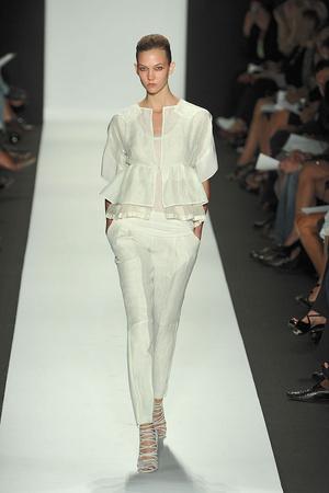 Показы мод Narciso Rodriguez Весна-лето 2010 | Подиум на ELLE - Подиум - фото 3062