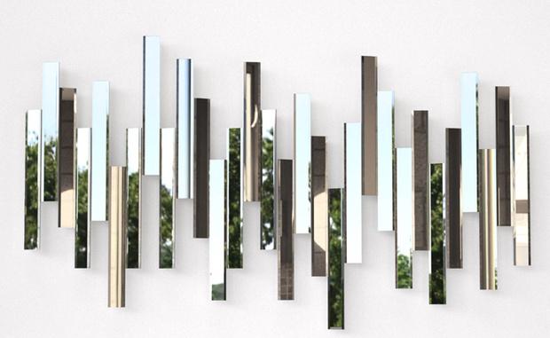 Зеркальное панно Mirage, дизайн Токудзина Йосиоки для Lema.