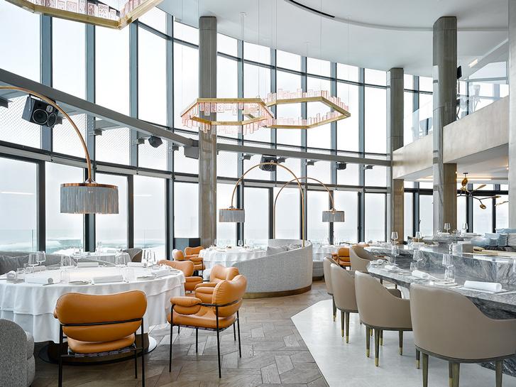 Новый ресторан «Сахалин» по дизайну Ирины Глик (фото 0)