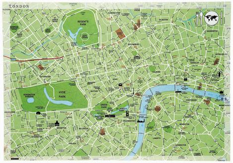 Подстановочная салфетка London, Seletti, магазины Design Boom, www.seletti.it