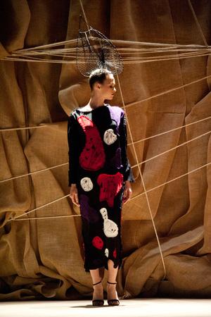 Показы мод Franck Sorbier Весна-лето 2013 | Подиум на ELLE - Подиум - фото 946
