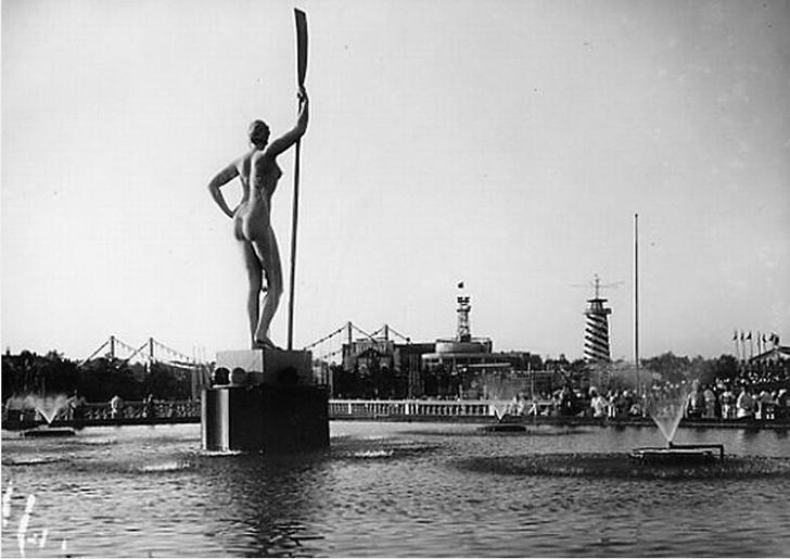 Девушка с веслом: 90 лет Парку Горького (фото 16)