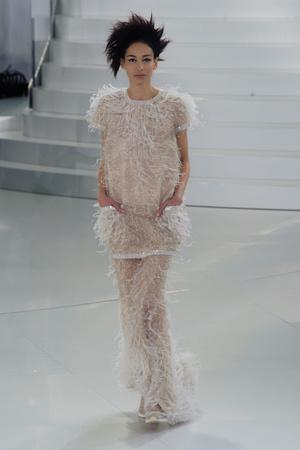 Показ Chanel коллекции сезона Весна-лето 2014 года haute couture - www.elle.ru - Подиум - фото 574492