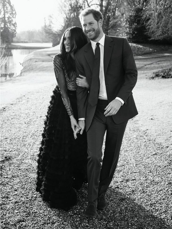 Принц Гарри и Меган Маркл помолвка фото