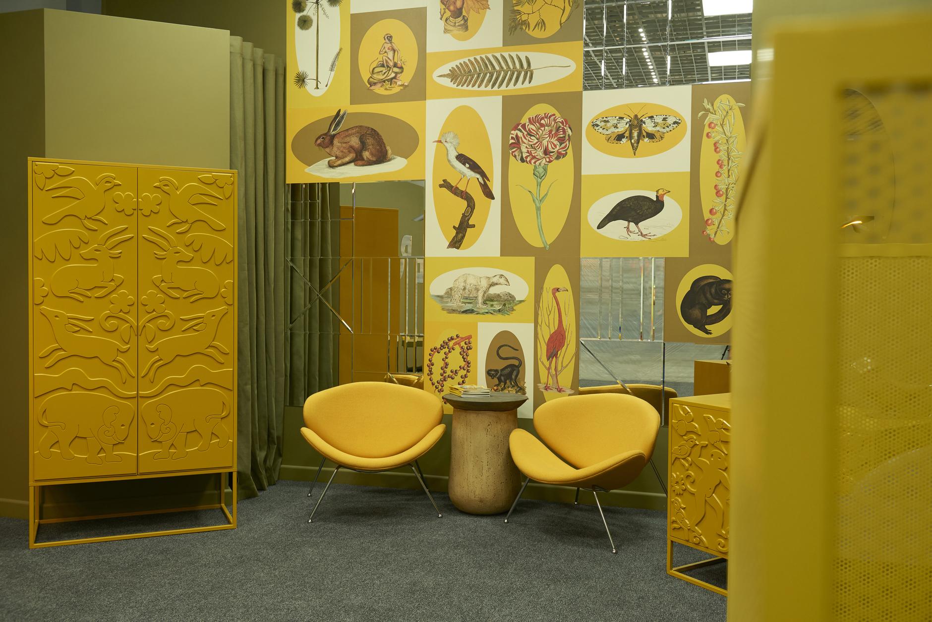 Любовь к цвету: офис интерьерной студии в Бресте (галерея 11, фото 0)