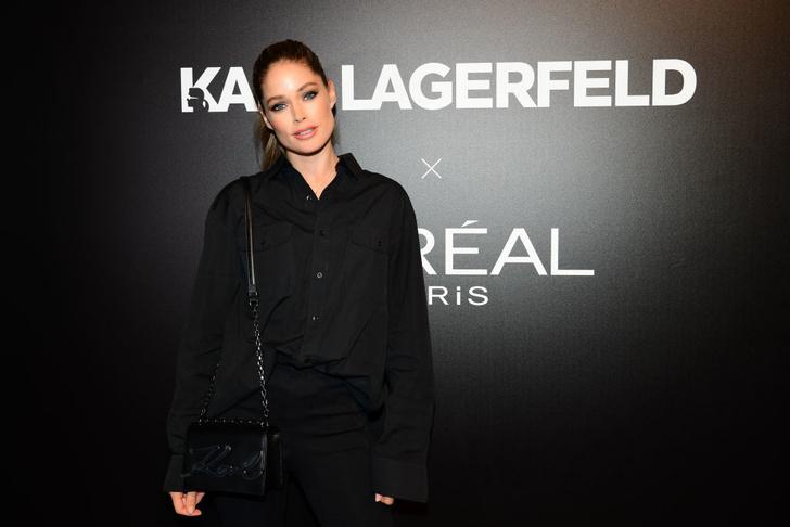 Как носить тотал-блэк? Как Даутцен Крез на вечеринке L'Oréal Paris (фото 2)