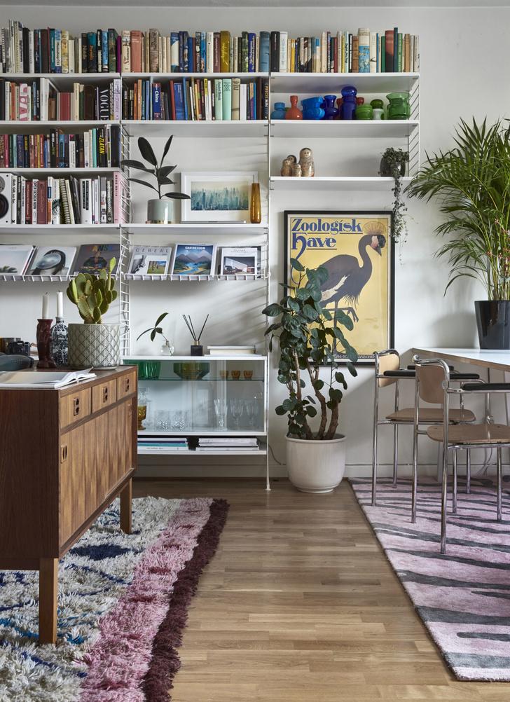 Квартира с винтажной мебелью в Стокгольме (фото 3)