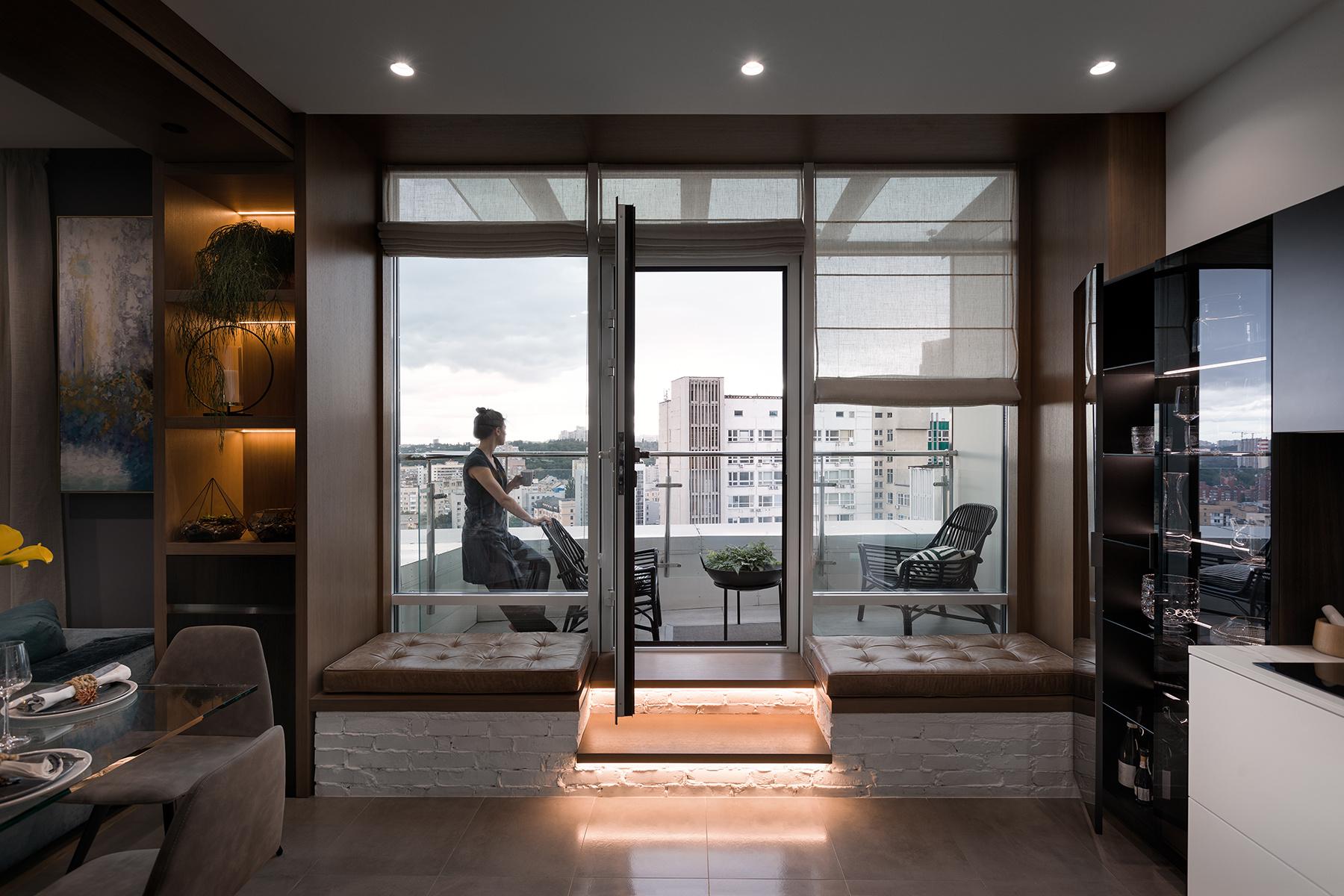 Идеи для оформления балконов и лоджий (галерея 0, фото 1)
