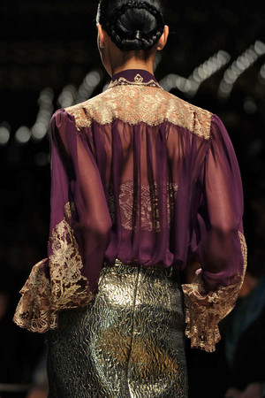 Показ Salvatore Ferragamo коллекции сезона Осень-зима 2012-2013 года prêt-à-porter - www.elle.ru - Подиум - фото 371968