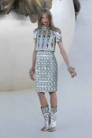 Показ  коллекции сезона Осень-зима 2010-2011 года haute couture - www.elle.ru - Подиум - фото 167904