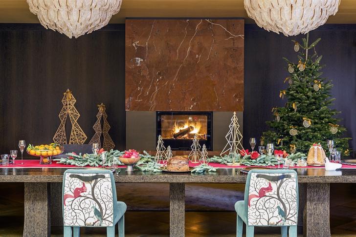 Семейные ценности: рождественская сервировка от Promemoria (фото 4)