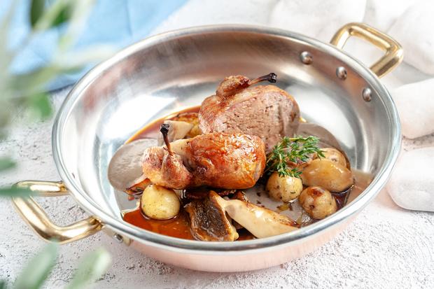 Новогоднее меню: блюда из птицы (фото 12)