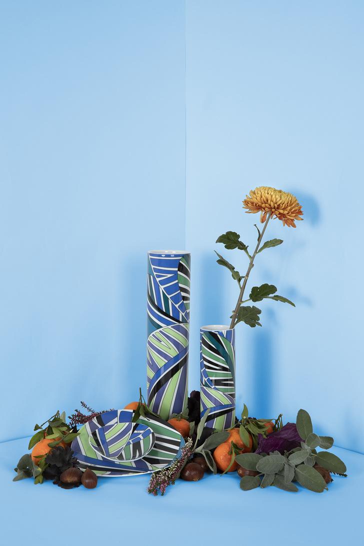Emilio Pucci и Rosenthal переиздали архивные вазы (фото 4)