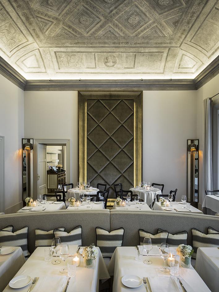 Миланский ресторан в двухсотлетней вилле (фото 3)