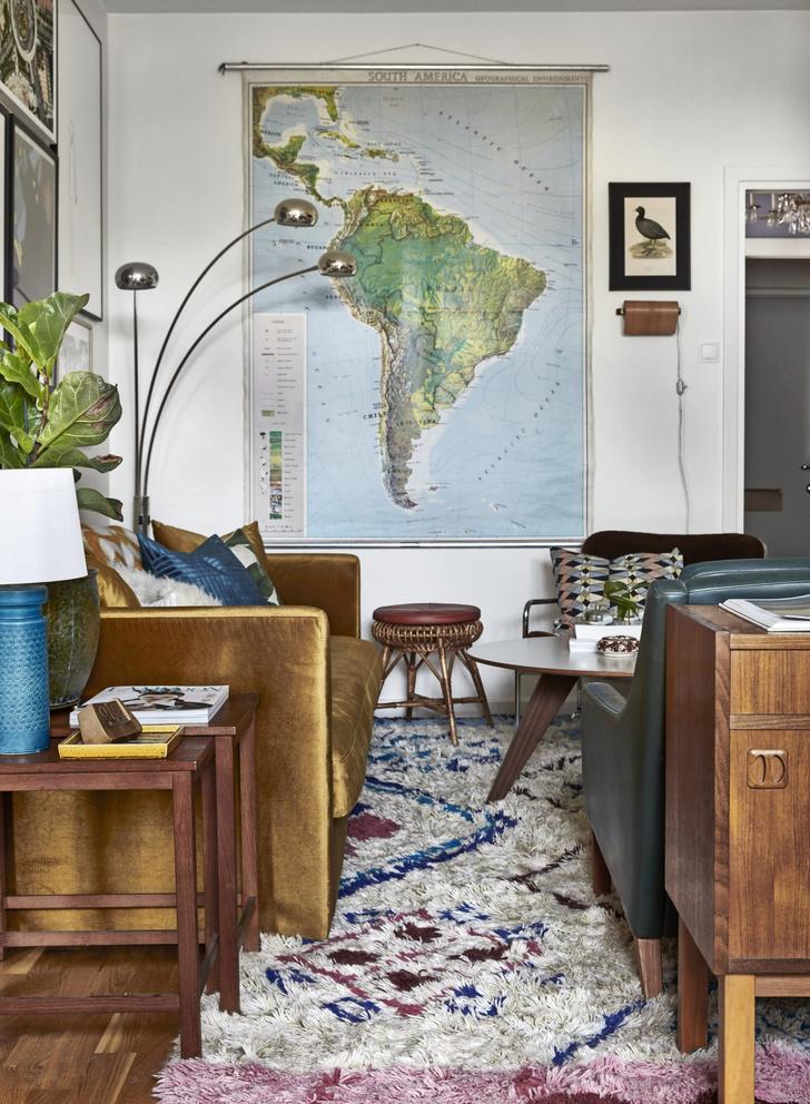 Квартира с винтажной мебелью в Стокгольме (фото 6)