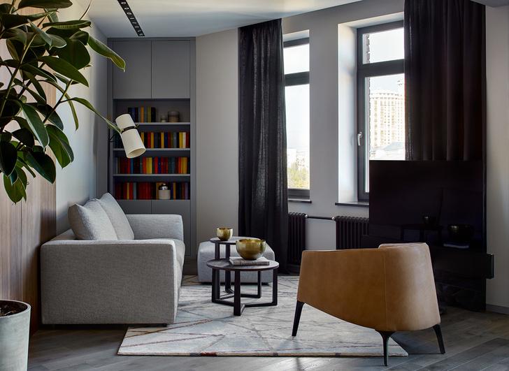 Брутальная квартира 78 м² с элементами минимализма (фото 3)
