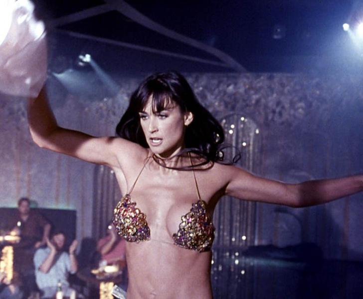 Деми Мур, кадр из фильма «Стриптиз»