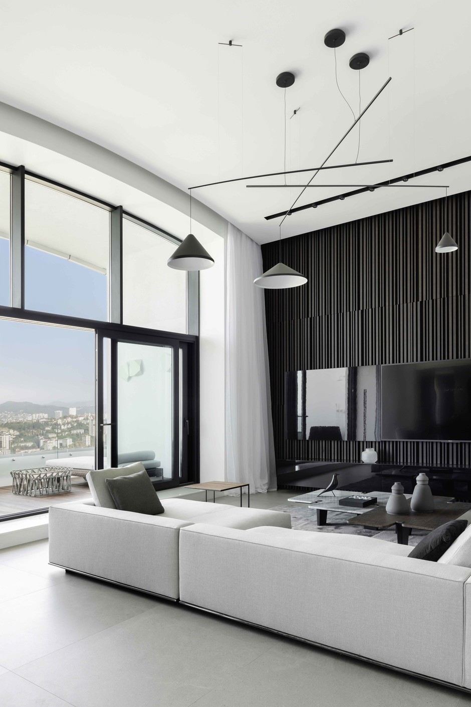 Черно-белые интерьеры: 30+ вдохновляющих примеров (галерея 1, фото 5)