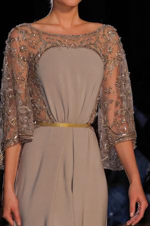 Показ Elie Saab коллекции сезона Осень-зима 2012-2013 года haute couture - www.elle.ru - Подиум - фото 404891