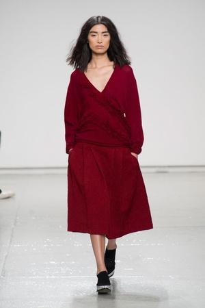 Показы мод Tracy Reese Осень-зима 2014-2015 | Подиум на ELLE - Подиум - фото 3856