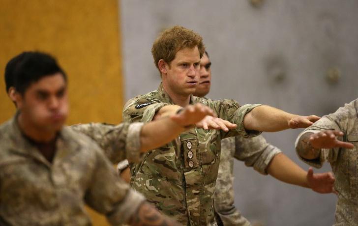 Принц Гарри исполнил традиционный боевой танец хака