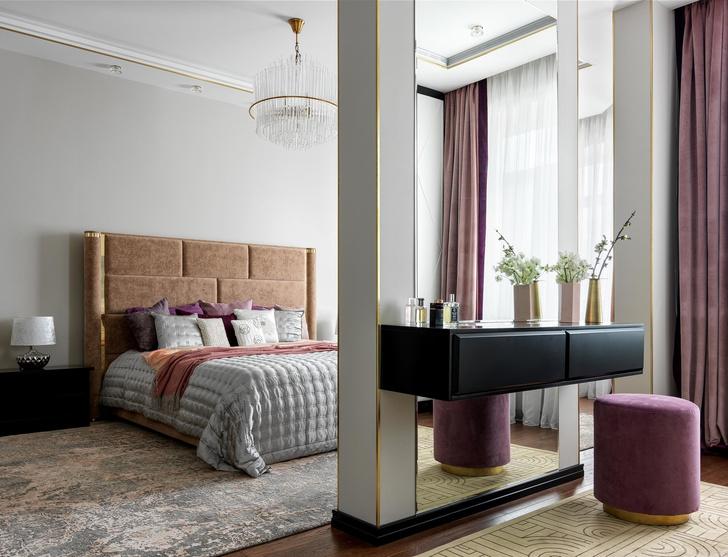 Изумрудные оттенки: московская квартира 126 м² (фото 8)