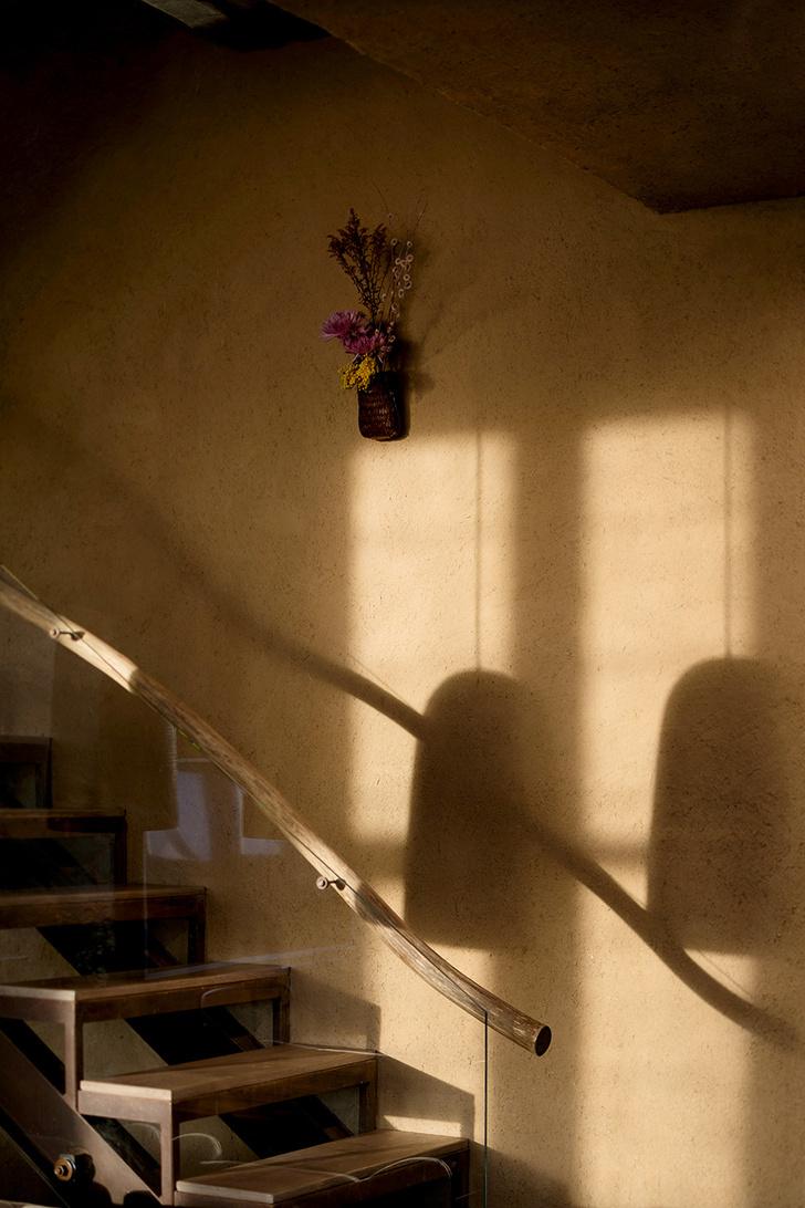 Хозяева квартиры увлекаются искусством икебаны