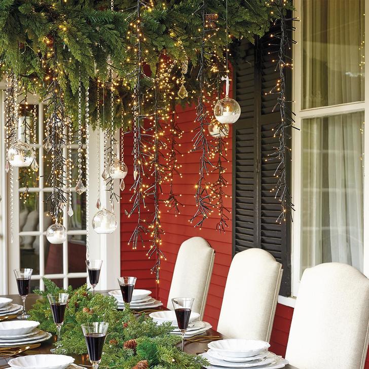 Новогоднее украшение дома: советы флориста фото [3]