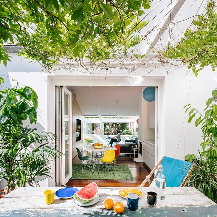 Квартира с бассейном, гамаком и террасой в Мадриде (фото 2)
