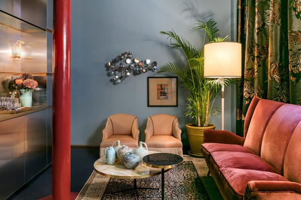 Клуб любителей винтажа: пять комнат в Лондоне от Dimore Studio (фото 4)