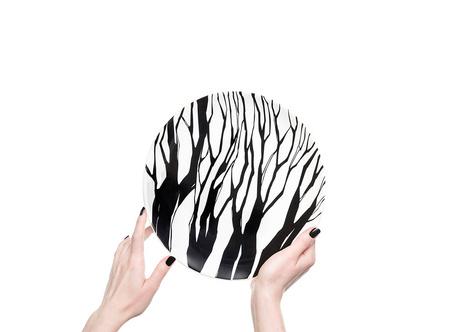 Керамические тарелки от молодого дизайнера Софии Соломко | галерея [1] фото [4]