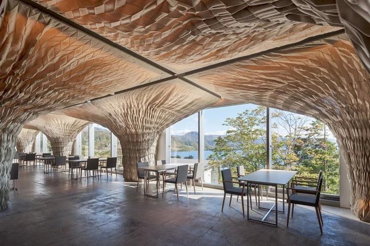 Отель по проекту Кенго Кумы на острове Хоккайдо (фото 2)