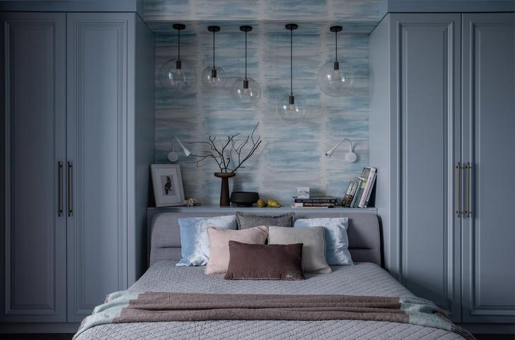 Квартира в серо-голубой гамме (фото 9)