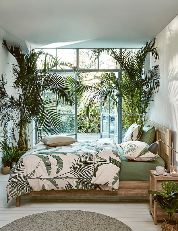 Тропические принты в интерьере: 20+ примеров (галерея 1, фото 20)