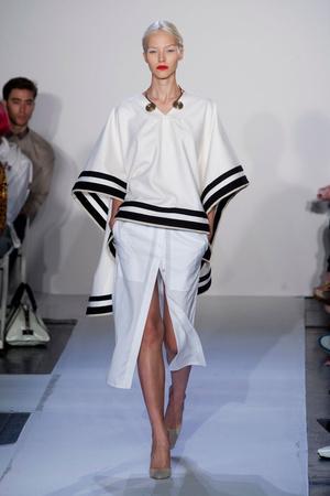 Показы мод Altuzarra Весна-лето 2014 | Подиум на ELLE - Подиум - фото 3526