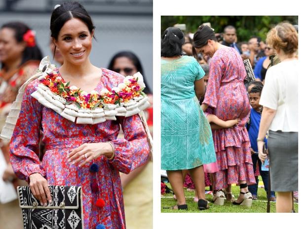Меган Маркл и принц Гарри: второй день на Фиджи (фото 4)