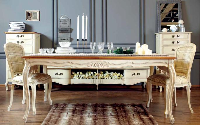 Мебель в стиле прованс для русской зимы (фото 2)