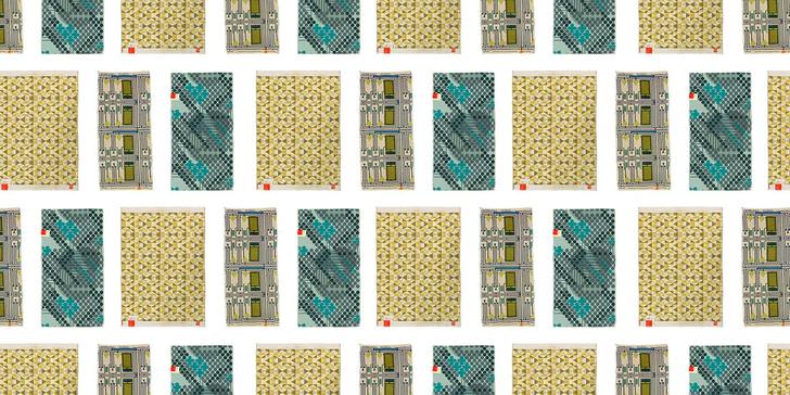 Ткани по дизайну Фрэнка Ллойда Райта на выставке в Нью-Йорке (фото 0)