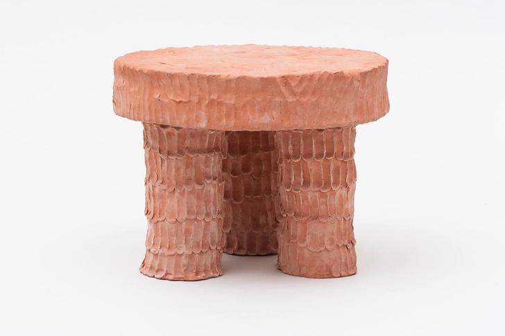 Глиняная мебель Криса Уолстона (фото 5)