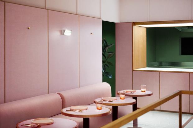 Розовая закусочная в Лондоне (фото 8)