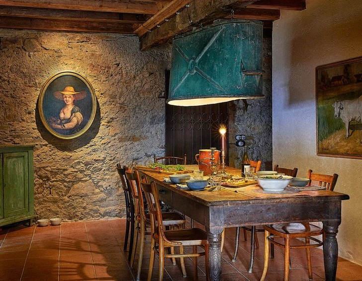 La Fortezza: каменный дом XII века в Италии (фото 4)