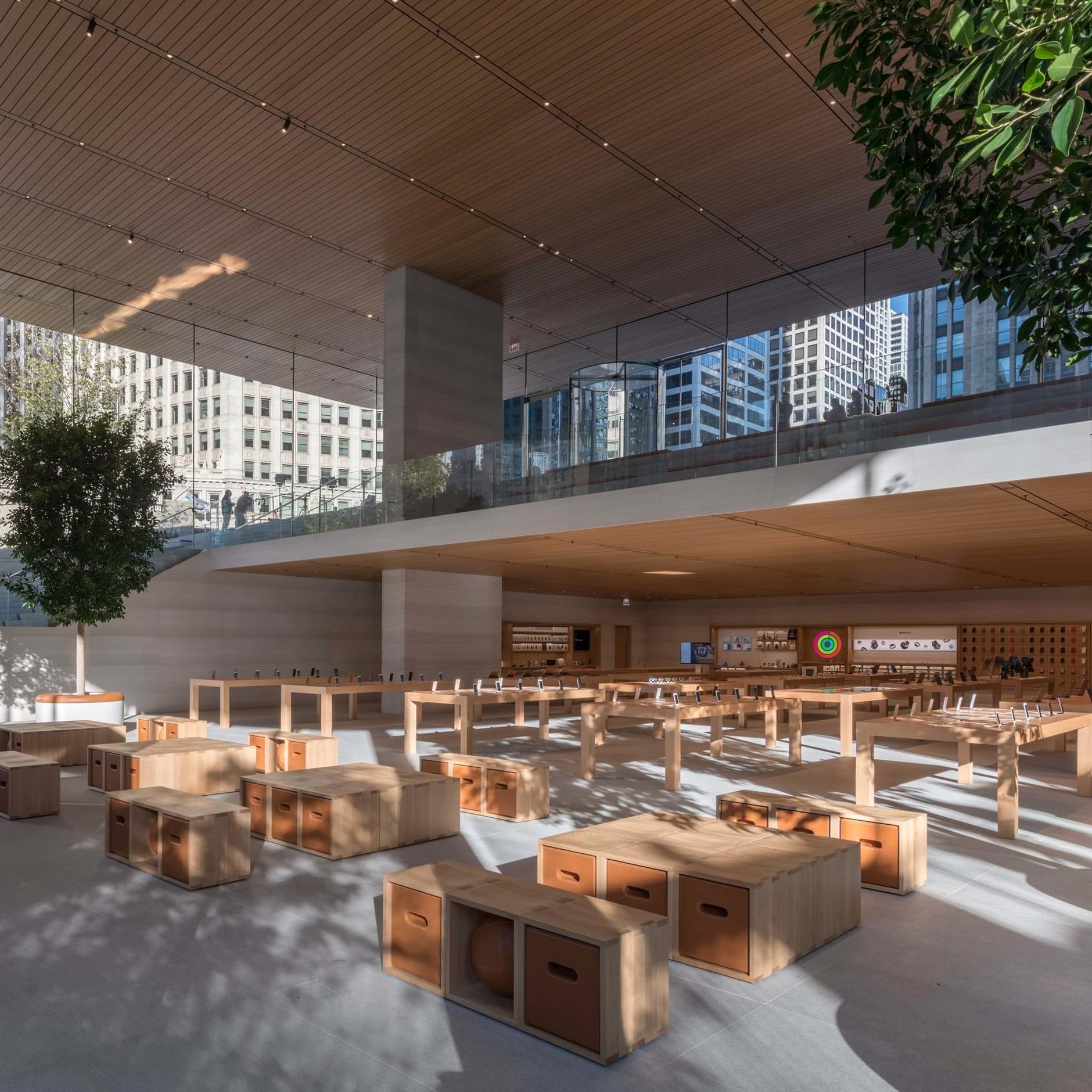 10 самых эффектных бутиков Apple (галерея 11, фото 2)